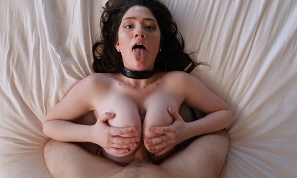 Busty Model Alyx Loves To Be Choked